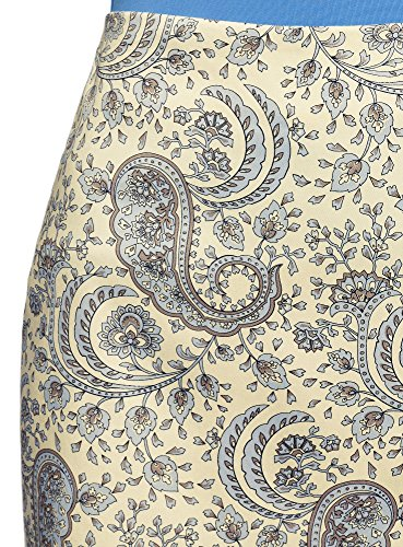 Amarillo Falda Mujer Recta Oodji Básica Collection 5070e vXEqvwH5