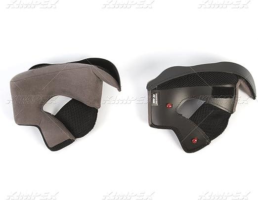 Grey Bell Qualifier DLX Cheek Pads Street Motorcycle Helmet Accessories 25MM