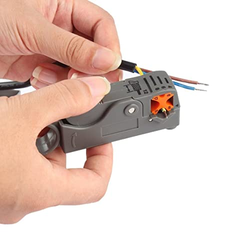 Herramienta coaxial del cortador de cable coaxial rotatorio Cortador rotatorio coaxial del cortador de RG58 RG6