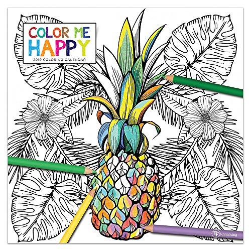 2019 Color Me Happy Wall Calendar