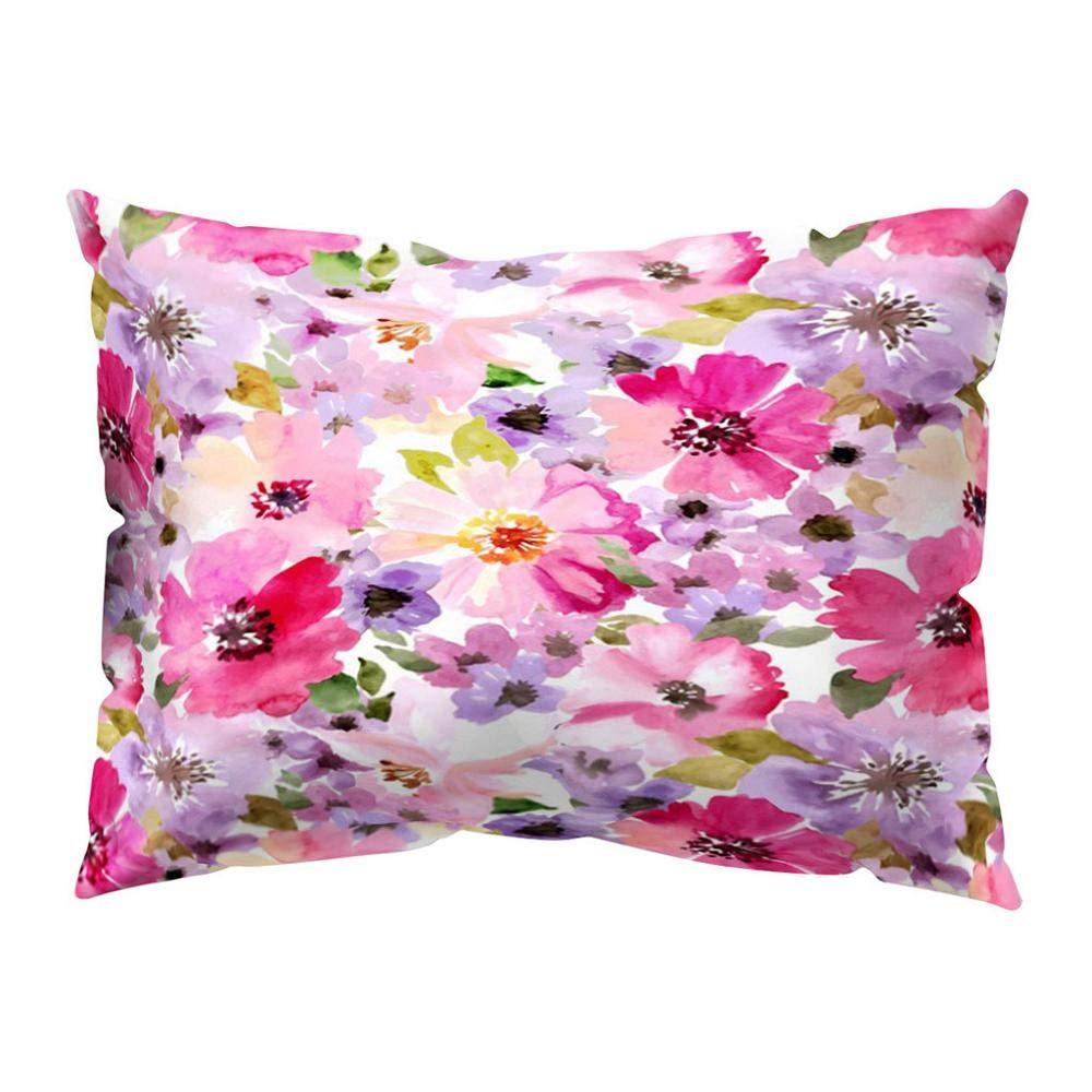 VJGOAL impresión Floral Suave Piel de melocotón Terciopelo ...