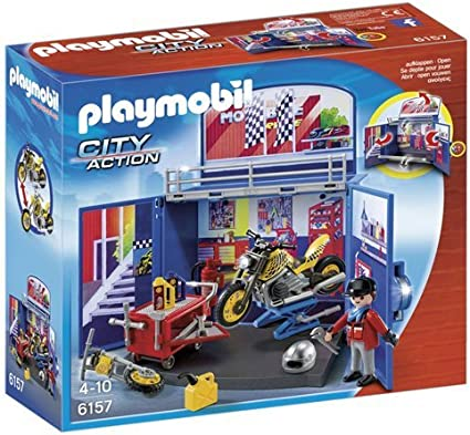 PLAYMOBIL - Cofre de Motos (61570)