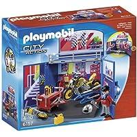 Playmobil - 6157 - Coffre 'Atelier de moto