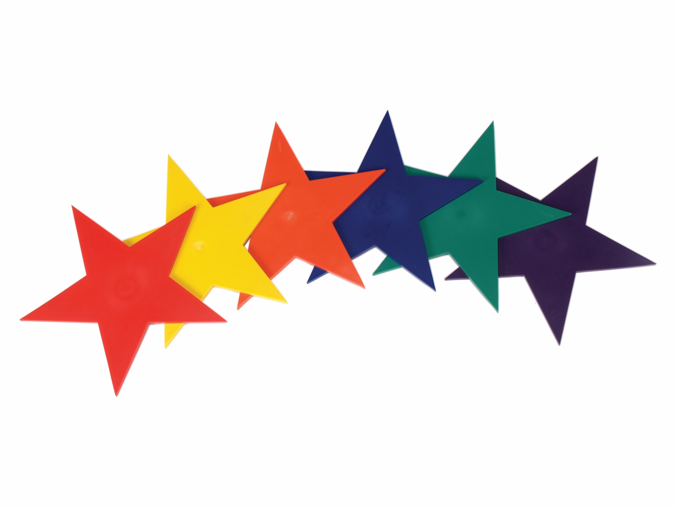 American Educational Products Marker Stars, 9'', Assorted Colors, Set of 6