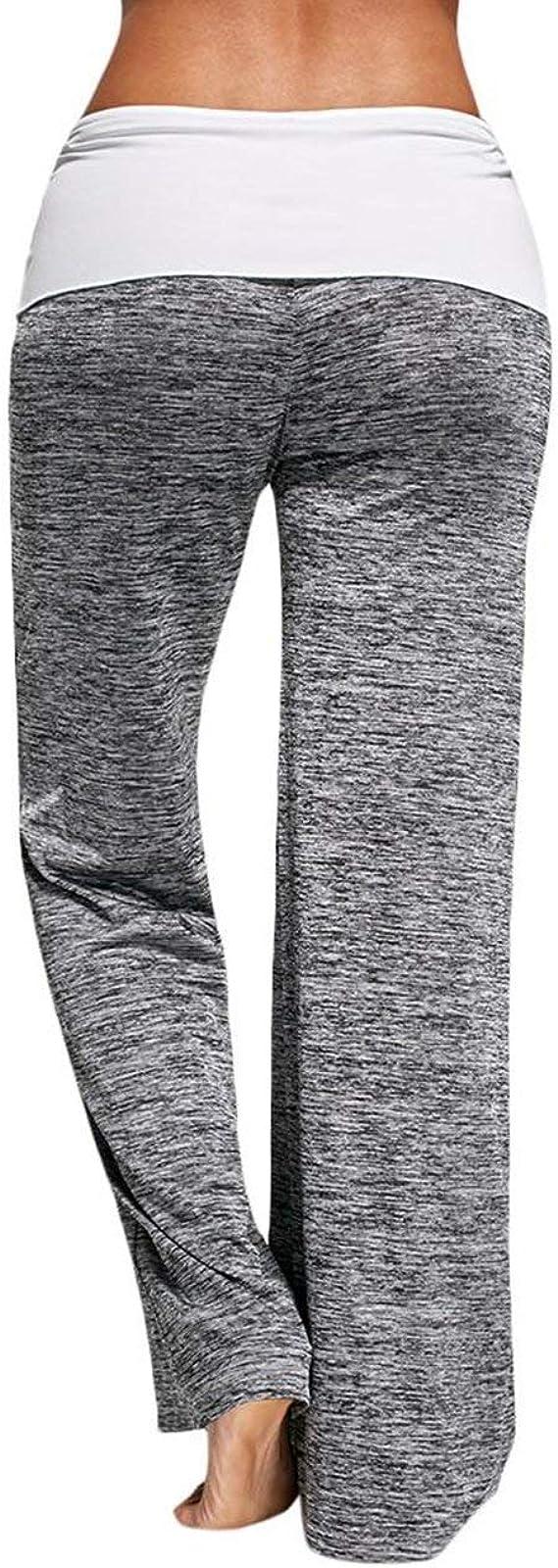 TNNZEET Damen Schlafanzughose Lang Pyjamahosen Mit Taschen Breites Bein Kordelzug Soft Nachtw/äsche Hose Jogginghose Blickdicht Sporthose Yoga Hose Freizeithose