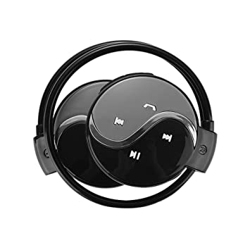Prom-near Auriculares Bluetooth Deportivos inalámbrico Auricular Bluetooth para Correr Entrenamiento Fitness soporta Tarjeta TF para MP3 WMA Todo el ...