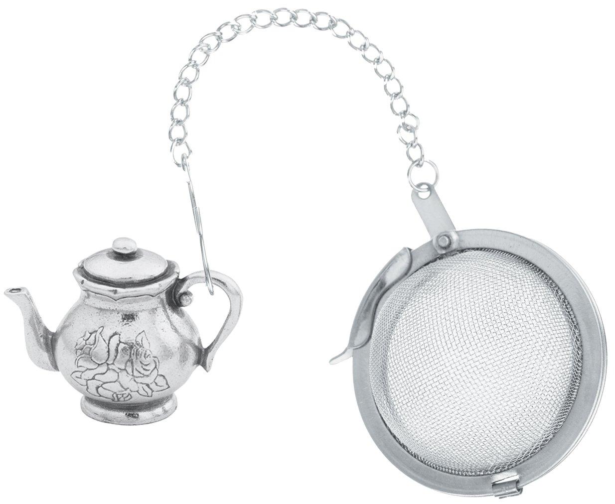 Danforth - English Teapot Pewter Tea Infuser by DANFORTH