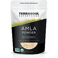 Terrasoul Superfoods Amla (Amalaki) Berry Powder (Organic), 1 Pound