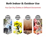 Portable Window Drying Rack Clothes Hangers