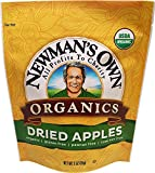 Newman's Own Organics Dried Apples, 3-Ounce Pouches (Pack of 12)
