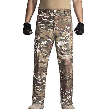 Amazon.com: HANAGAL - Pantalones de invierno para hombre con ...
