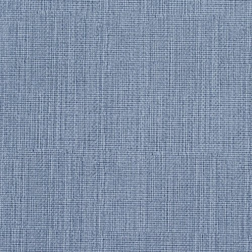 G605 Blue Linen Look Outdoor Indoor Upholstery Vinyl by The Yard