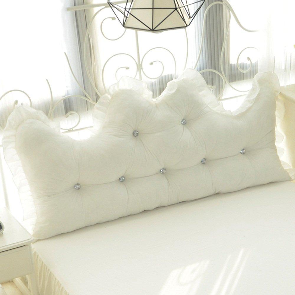 Cotton lace bedside / cotton alone / Korean Princess Feng Shui cotton back / ( Size : 15055cm )