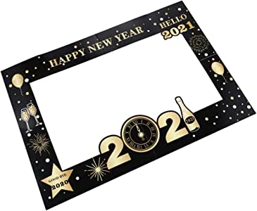 Amazon.com: NUOBESTY 2021 Happy New Year Eve Party Photo ...