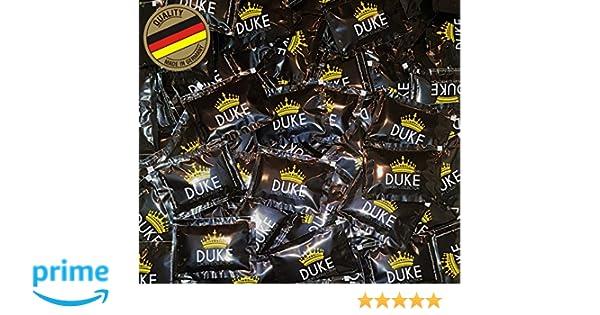 Toallistas referescantes Original de Duke Black-Line sin alcohol, para cuidado suave de la piel, individualmente empaquetado y extra fresco con efecto Anti ...