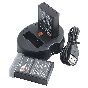 DSTE 2pcs Batería + Cargador de Batería USB para Olympus PS-BLS1 BLS-1 E-400 E-410 E-420 E-450 E-600 E-620 E-P1 E-P2 E-P3 E-PL1 E-PL3 E-PM1 Camera