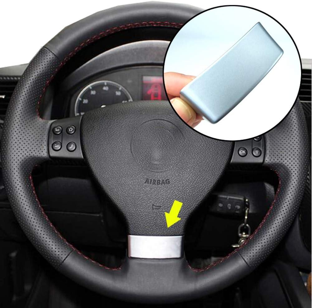 Xukey Emblem Steering Wheel For Golf Mk5 Passat B6 3c Eos Mk1 Jetta Mk3 Touran Chrome Auto