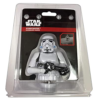 CHROMA 48027 White Stormtrooper Dashboard Auto Ornament: Automotive [5Bkhe1502279]