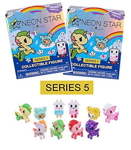 NEW! - NEON STAR! - SET of 2 COLLECTIBLE FIGURES - SERIES 5.