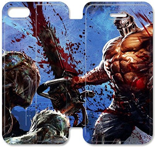 Funda iPhone 6 6S 4.7 Inch Caso De Cuero [BONITO REGALO Buen Presente] [New Evil Vingence H5D6N ] La caja del teléfono protector para iPhone 6 6S 4.7 Inch