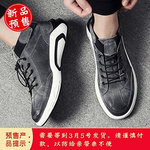 GUNAINDMX Herrenschuhe Frühling erhöhen Freizeit Freizeit Freizeit atmungsaktiv Schuhe Sport 8049ba