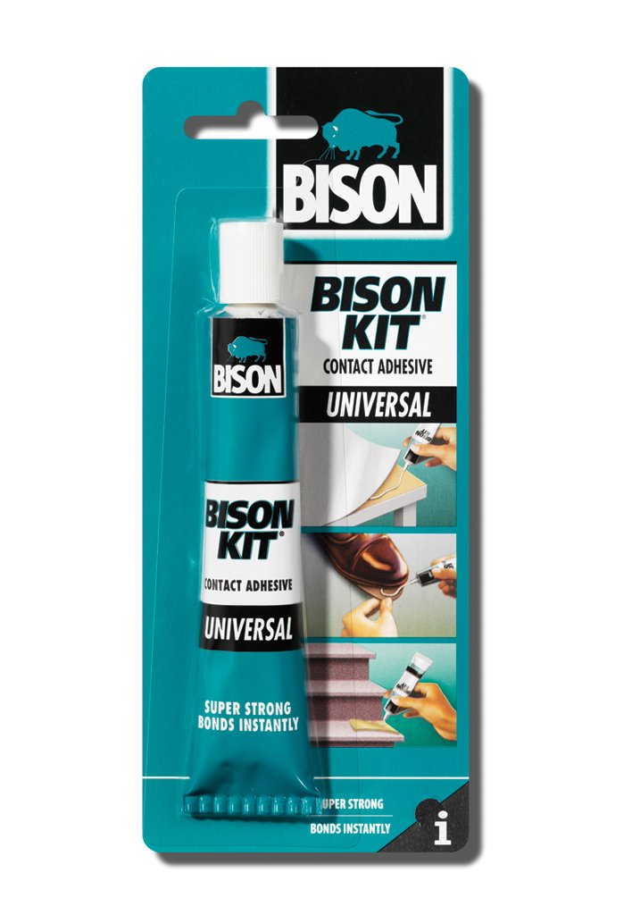 1 x 6305326 Bison Kit Universal Contact Adhesive Glue 50ml.