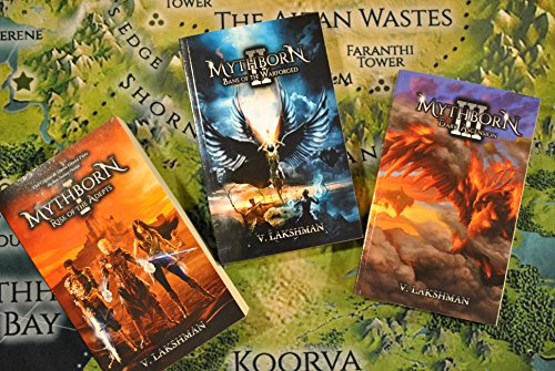 Mythborn Books 1 - 3: Bundle Deal (Fate of the Sovereign) by [Lakshman, V.]