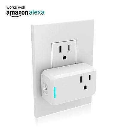 Amazon com: Mini Smart Plug Outlet Compatible with Alexa,no