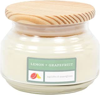 product image for David Oreck Candle Company Essential Infusions Soy Aromatherapy Candles, Lemon + Grapefruit, 10 oz, 60 Hour Burn time