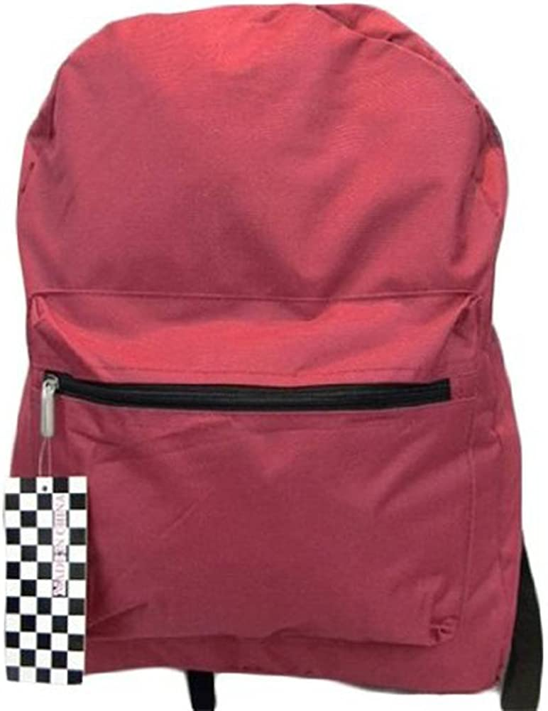 Comes in Different Colors Clover Stylish Plain Backpack