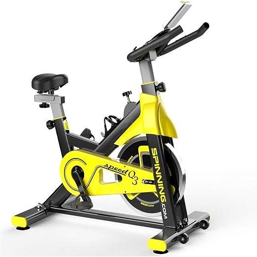 859/5000 Mini bicicleta deportiva magnética con Cubierta de entrenamiento de ejercicio en bicicleta bicicleta estacionaria Cardio Training bicicletas de transmisión del cinturón Adecuado para entrenam: Amazon.es: Hogar