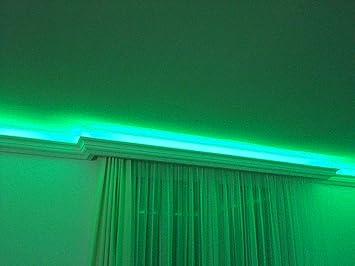 Barra de luz LED de 20 m perfil BL13 4 esquinas iluminaci/ón indirecta