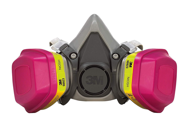 62023HA1-C Professional Multi-Purpose Respirator, Medium by 3M Safety