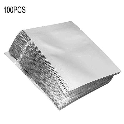 Favourall 100 PCS Bolsa de Papel de Aluminio Bolsa de ...