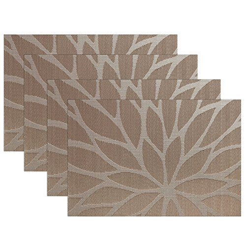 Furnily Placemats Kitchen Dining Resistant