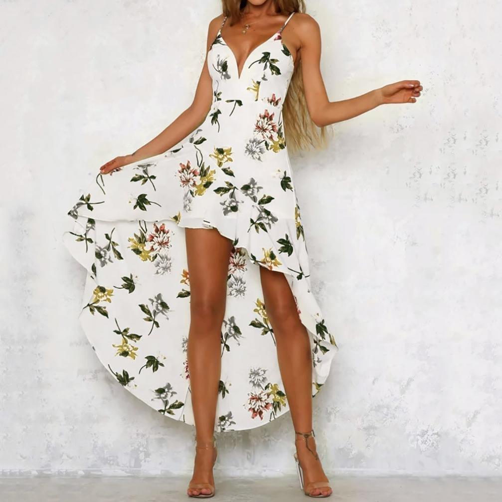 JYC Encaje Elegante Casual Vestido, Verano Suelto Vestido, Vestido Fiesta Mujer Largo Boda, Mujeres Fiesta Inmersión Señoras Maxi Largo Verano Floral ...