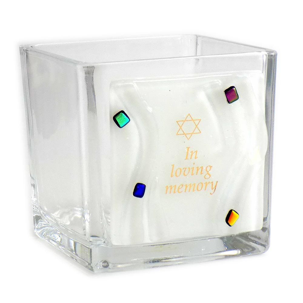Yarzheit Candle Sitting Shivah Jewish Funeral Memorial Candle In Loving Memory Design