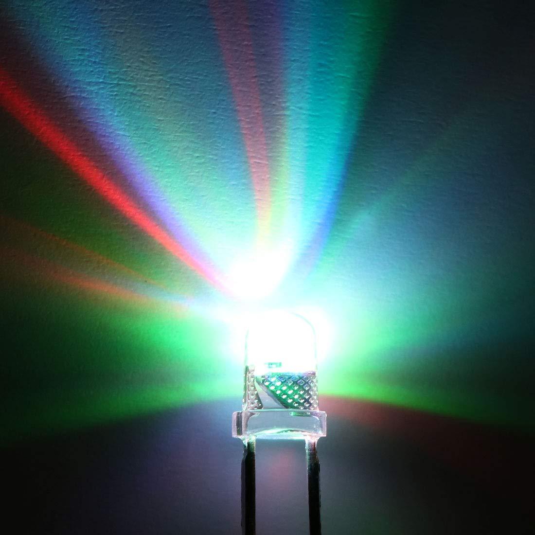 100 x 3mm round Blue LED superbright bulb lamp light