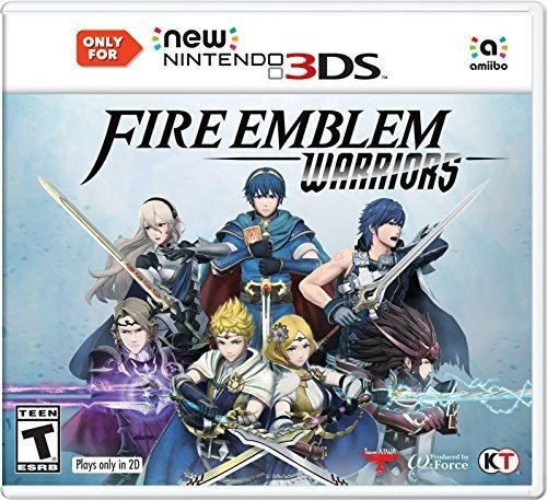 Fire Emblem Warriors   New Nintendo 3Ds  Not Compatible With Old 3Ds