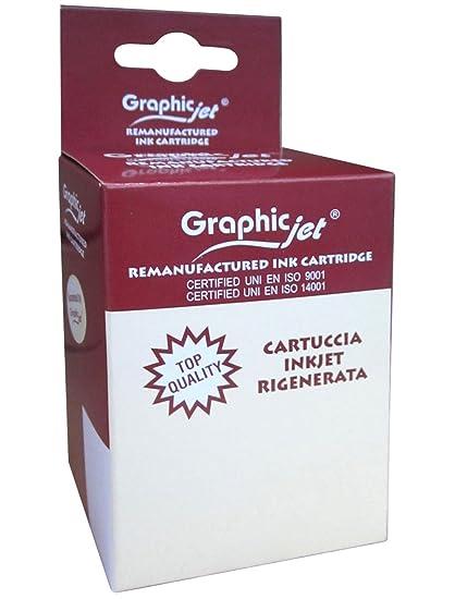 Graphic-Jet Cartuccia Rigenerata Giallo C2P26A, N.935XL Amarillo ...