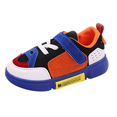 Baby Shoes, Kid Boys Gilrs Mixed Colors Patch Mesh Sport Shoes by WOCACHI Back to