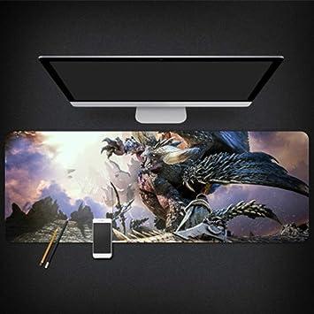 GUOFENG Alfombrilla de ratón para Estudio de Ordenador Monster Hunter World, Color 7, 800 * 300 * 3mm: Amazon.es: Electrónica