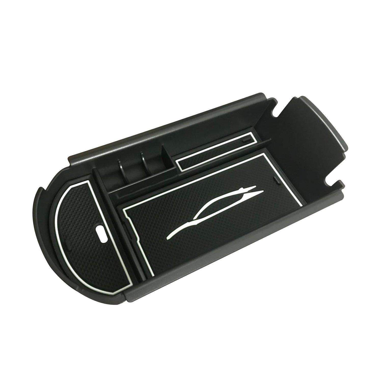 LFOTPP C-HR NGX50 ZYX10 Consola central Caja de almacenamiento Apoyabrazos Caja Interior interior Center Armrest Storage Box Blanco
