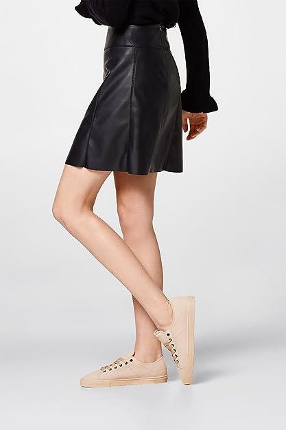 brand new 7f6ef 3bb6c Esprit 028ek1w021-685, Chaussures de Ville à Lacets Pour Femme - Rose - Rose