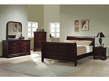 Awesome Grosvenor 2 Drawer Solid Hardwood Cherry Bedside Table Home Interior And Landscaping Ponolsignezvosmurscom
