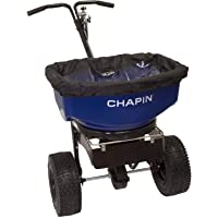 Chapin 82088 80-Pound Professional Sure Spread Salt and Ice Melt Spreader with Baffles, (1 Spreader/Package)