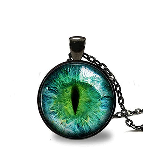 Amazon green cat eye necklace eyeball necklace eye pendant eye green cat eye necklace eyeball necklace eye pendant eye jewelry cat necklace cat aloadofball Choice Image