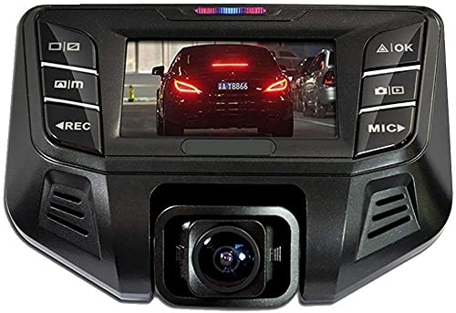 GordVE Dash Cam 1080P HD WDR Dashboard Camera Driving Recorder with 2.7 LCD Screen 170 Wide Angle, G-Sensor, Loop Recording and Motion Detection