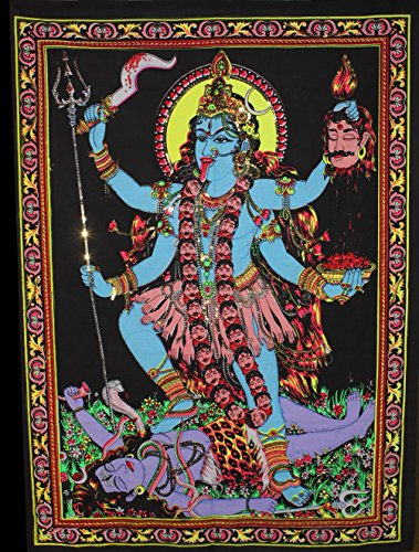 Huge Cotton Fabric Goddess Tapestry product image