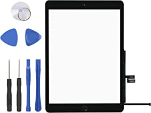 Pre-Installed Adhesive only for A2197 A2198 A2200 with Home Button Complete Repair Tools Kit JPUNG Screen Replacement for iPad 7 2019 7th Gen 10.2 Camera Holder 365 Days Warranty